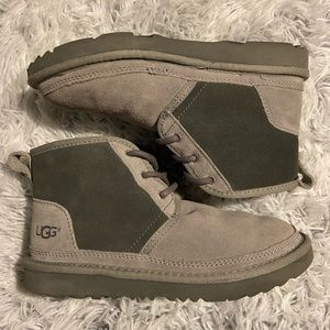 Gray UGG Boots.